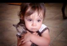 Olivia e il suo gattino