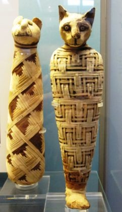 Gatto sarcofago 100 a.C.