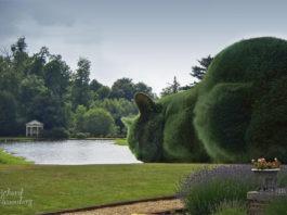 Topiary Cat di Richard Saunders